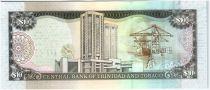 Trinidad et Tobago 10 Dollars Oiseaux - Activité portuaire - 2015