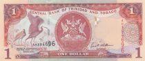 Trinidad et Tobago 5 Dollars Oiseaux - Armoiries 2002