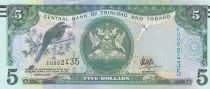 Trinidad et Tobago 5 Dollars Oiseaux - Immeuble - 2006 (2017) - Neuf