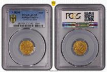 Tunesien 1 Dinar, Dynasty Aghlabid (206-296) - PCGS AU53