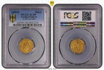 Tunesien 1 Dinar, Dynasty Aghlabid (206-296) - PCGS AU58