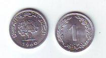Tunisia 1 millim