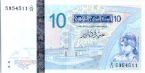 Tunisia 10 Dinar Elissa de Carthage - 2005