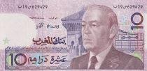 Tunisia 10 Dirhams - Hassan II - 1407/1987
