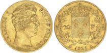 Tunisia 20 Francs Charles X - 1825 A Paris- Gold