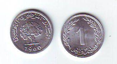 Tunisie 1 millim