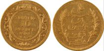Tunisie 10 Francs  - 1882 à 1902