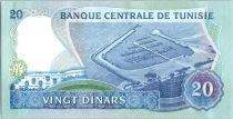 Tunisie 20 Dinars - Habib Bouguiba - Port - 1983