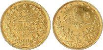 Turchia 50 Kurush - 1327/5 (1949) - Gold