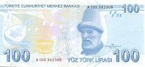 Turkey 100 Yeni Turk Lirasi Turk Lirasi, Pdt Ataturk - Buhurizade Mustafa Efend