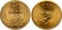 Turkey 1000 Lira - 1996