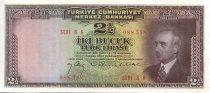 Turkey 2.5 Lira Pres. L. Inonu - Bank