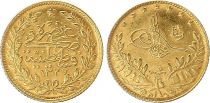 Turkey 50 Kurush - 1327/5 (1949) - Gold