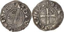 Turkey Denier - Bohemond III (1163-1201) - Crusaders - VF
