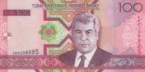 Turkménistan 100 Manat S. Niazov - Batiment - 2005 - P.18 - Neuf
