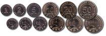 Turkmenistan TKM.1 Serial of 6 coins - 2009