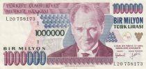Turquie 1 000 000 Lira 1970(1995) - Atatürk, Barrage