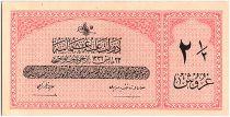 Turquie 2 1/2 Piastres, Loi du 23-05-AH1332 - 1616-1917 - P.86 - Neuf