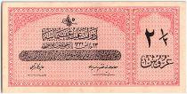 Turquie 2 1/2 Piastres, Loi du 23-05-AH1332 - 1616-1917 - P.86 - SUP