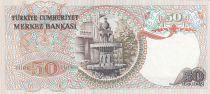 Turquie 50 Lirasi 1976 -  Pdt Ataturk - Fontaine