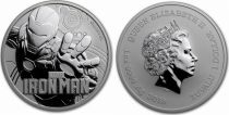 Tuvalu 1 Dollar Iron Man - Marvel Once Argent 2018