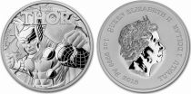 Tuvalu 1 Dollar Thor - Marvel Once Argent 2018