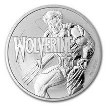 Tuvalu 1 Dollar Wolverine - Marvel Once Argent 2021