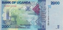 Uganda 2000 Shillings - Sea - Fish - 2010