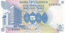 Uganda 5 Shillings - Bank of Uganda - Woman - 1979