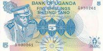 Uganda 5 Shillings - Président Idi Amin - Women - 1977