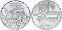 Ukraine 10 Hryven Camion Kraz-6322 Soldat - 2019