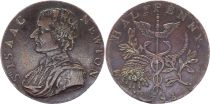 United Kingdom 1/2 Penny Isaac Newton - 1793 token
