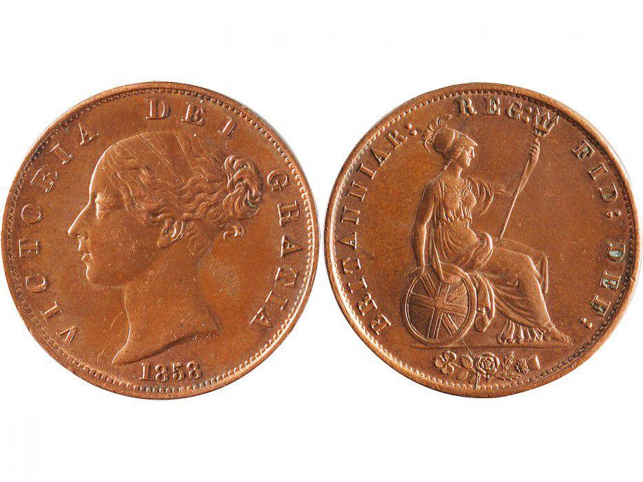 United Kingdom 1/2 Penny Victoria