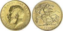 United Kingdom 1/2 Souverain George V - 1918 - Gold