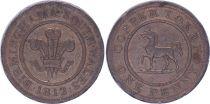 United Kingdom 1 Penny - Birmingham South Wales - 1812 - Copper Token