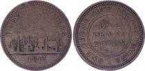 United Kingdom 1 Penny - Flint Lead Works - 1813 - Copper Token
