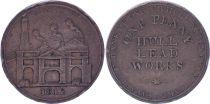 United Kingdom 1 Penny - Hull Lead Works - 1812 - Copper Token