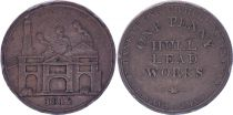 United Kingdom 1 Penny - Hull Lead Works - 1812 - Copper Token