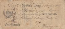 United Kingdom 1 Pound, Newart Bank - 1804 - Fine