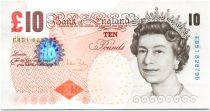 United Kingdom 10 Pounds Elizabeth II - Ch. Darwin - 2012 - unc - P.389