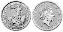 Royaume-Uni 2 Pounds Elisabeth II - Britannia Once Argent 2019