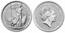 United Kingdom 2 Pounds Elizabeth II - Britannia Oz Silver 2019