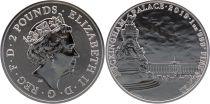 Royaume-Uni 2 Pounds Elisabeth II - Buckingham Palace - Once Argent 2019