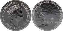 United Kingdom 2 Pounds Elizabeth II - Buckingham Palace -  Oz Silver 2019