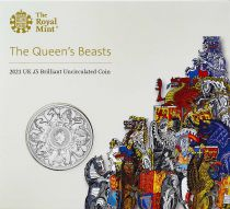 United Kingdom 5 Pounds Elizabeth II - Beast - 2021 - Cupro-Nickel - BU
