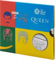 United Kingdom 5 Pounds Queen Music Legends - 2021 - BU