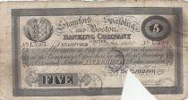 United Kingdom 5 Pounds Stamford Spalding and Boston Bank - 1899 - F - l.3364