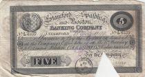 United Kingdom 5 Pounds Stamford Spalding and Boston Bank - 1899 - F - L.4239