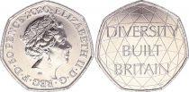 United Kingdom 50 Pence - Elizabeth II - Diversity - 2020 - AU