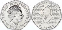 United Kingdom 50 Pence Sherlock Holmes - 2019 - AU